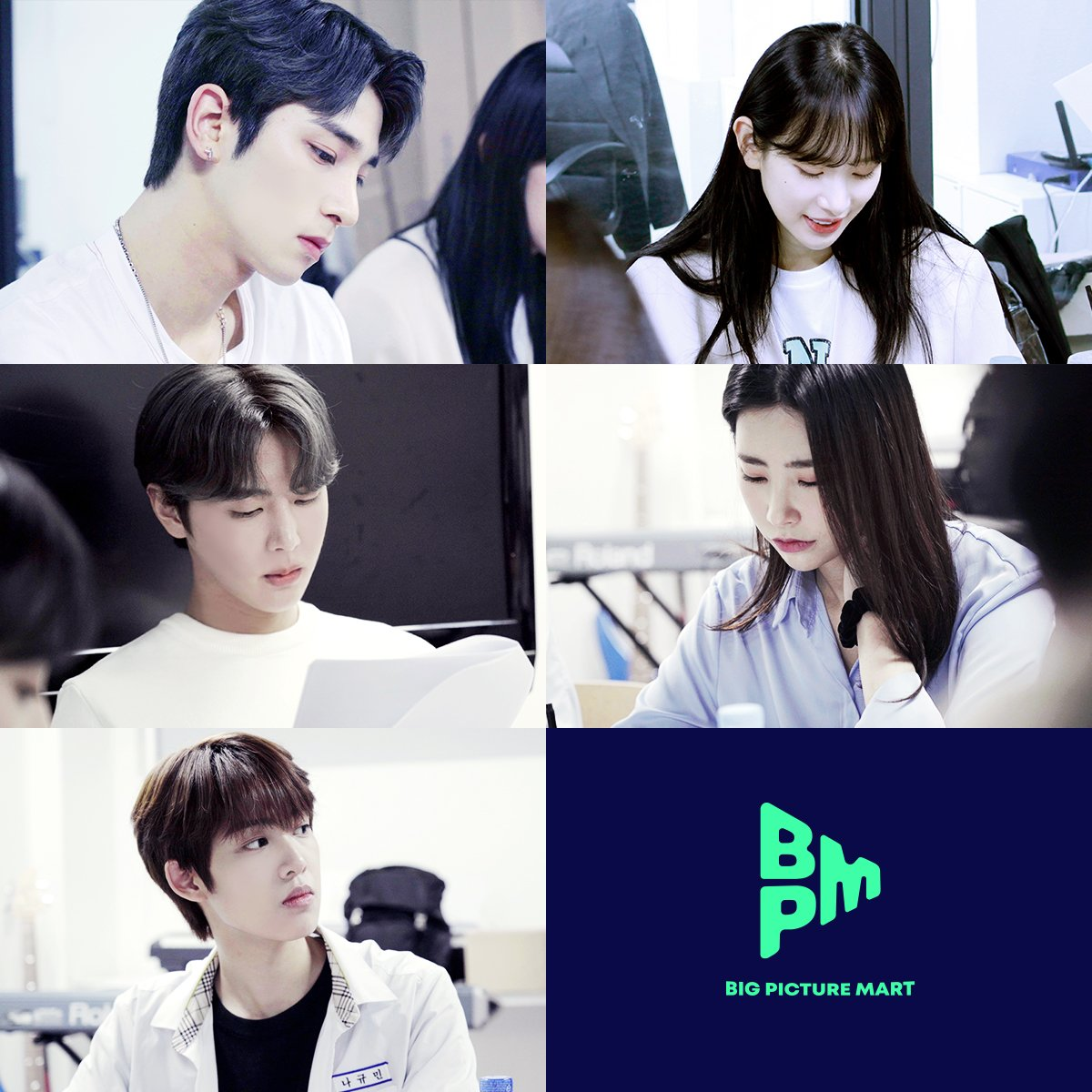 Pic 1 - Various idols have been confirmed to star in an upcoming web drama!
